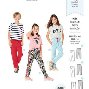 Burda Style Pattern 9300 Children's Jogging Pants