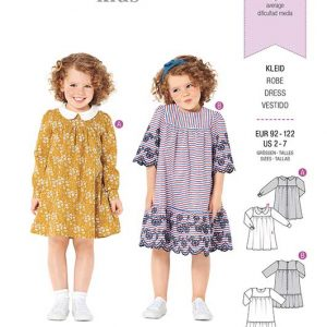 Burda Style Pattern 9305 Children's Dress with Yoke