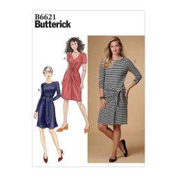 B6621 Misses' Dress