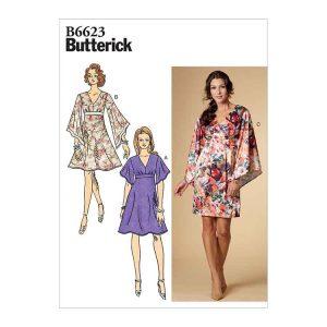 B6623 Misses' Dress