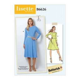 B6626 Misses'/Misses' Petite Dress