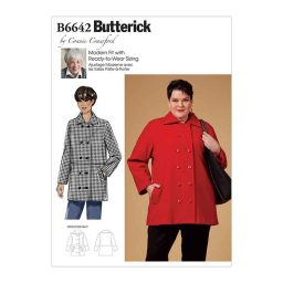 B6642 Misses', Women's Coat