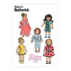 """B6645 Clothes For 18"""" Doll"""