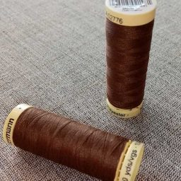 Gutermann Sew All Thread Col. 446 (brown)