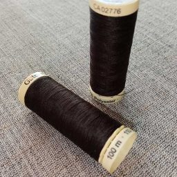 Gutermann Sew All Thread Col. 697 (brown)