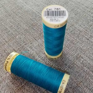 Gutermann Sew All Thread Col. 761 (Malibu blue)