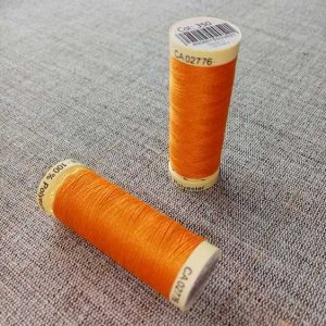 Gutermann Sew All Thread Col. 350 (orange)