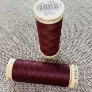 Gutermann Sew All Thread Col. 130 (red)
