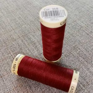 Gutermann Sew All Thread Col. 368 (red)