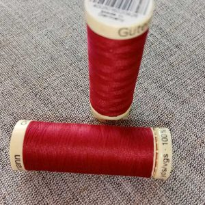 Gutermann Sew All Thread Col. 384 (red)