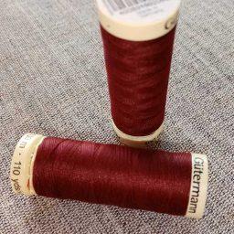 Gutermann Sew All Thread Col. 369 (wine)