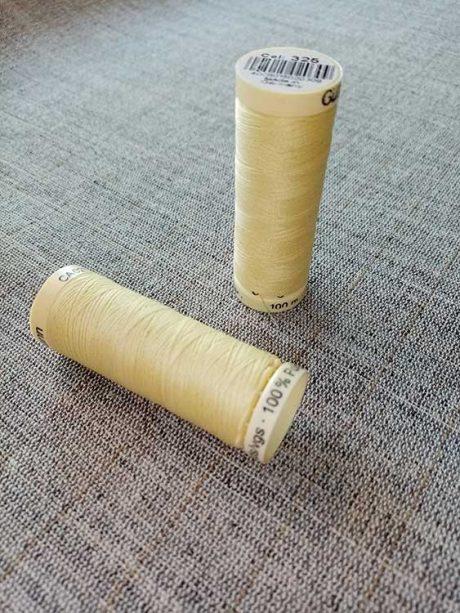 Gutermann Sew All Thread Col. 325 (yellow)
