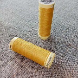 Gutermann Sew All Thread Col. 415 (yellow)