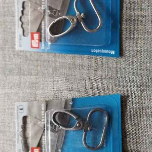25mm Snap Hook (Bright Silver or Antique Silver)