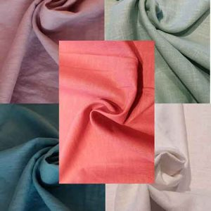 Enzyme-washed bio linen