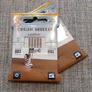 Organ leather sewing  machine needles (90-100)