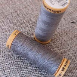Gutermann Cotton Thread #6206 (mid grey)