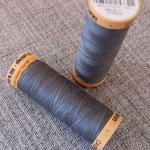 Gutermann Cotton Thread #5707 (slate grey)