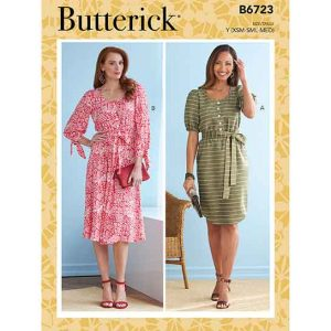 B6723 Misses' Dresses