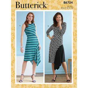 B6724 Misses' Dresses