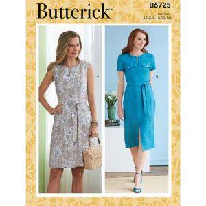 B6725 Misses' Dresses