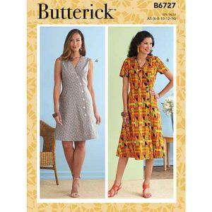 B6727 Misses' Dresses
