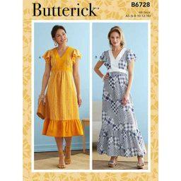 B6728 Misses' Dresses