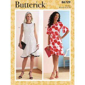 B6729 Misses' Dresses