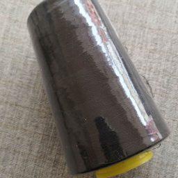 Overlocker/serger thread, 100% polyester, 5000 yds (dark brown)