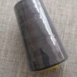 Overlocker/serger thread, 100% polyester, 5000 yds (dark grey)