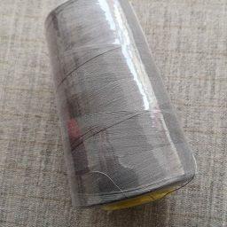 Overlocker/serger thread, 100% polyester, 5000 yds (mid-grey)