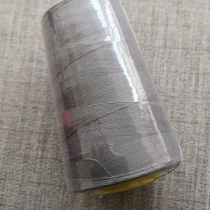Overlocker/serger thread, 100% polyester, 5000 yds (mid-grey)