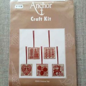 Cross Stitch Kit: Counted: Christmas Tags (Set 5)