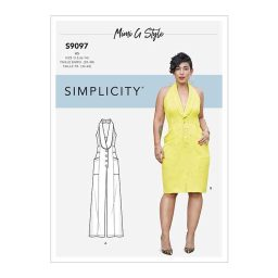 S9097 Misses' Dress & Jumpsuit