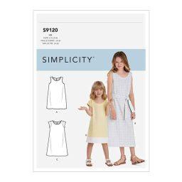 S9120 Children's & Girls' Dresses