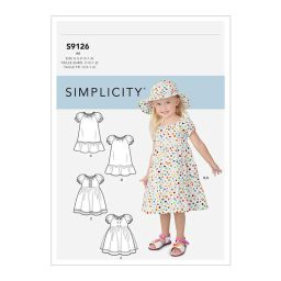 S9126 Toddlers' Dresses