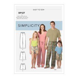 S9127 Unisex Sleepwear