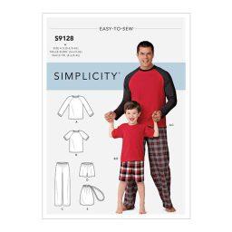 S9128 Men's & Boys Sleepwear