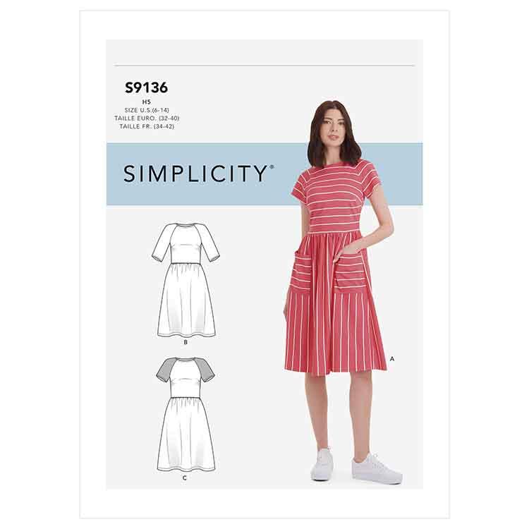 S9136 Misses' Dress