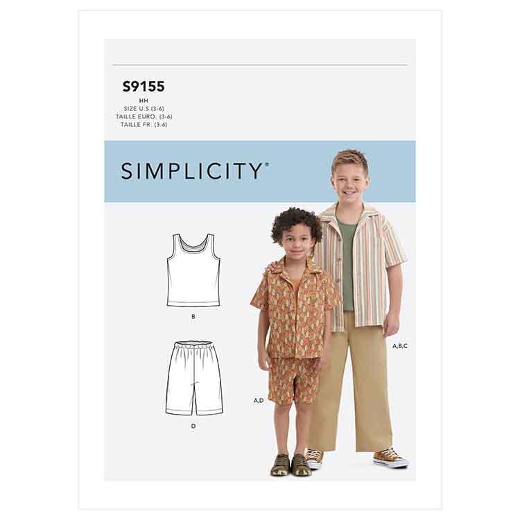 S9155 Boys' Tops & Pants