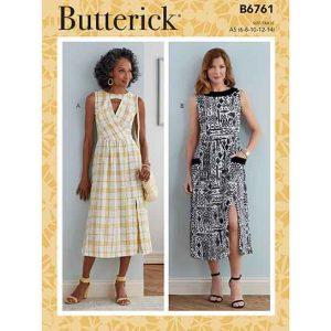 B6761 MISSES' & MISSES' PETITE DRESS
