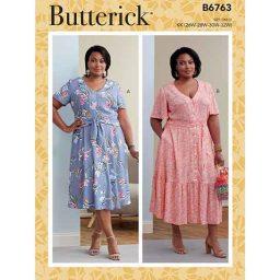 B6763 WOMEN'S DRESS