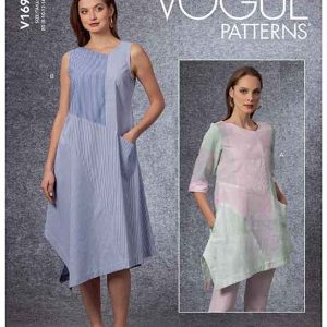 V1694 Misses' Tunic & Dress
