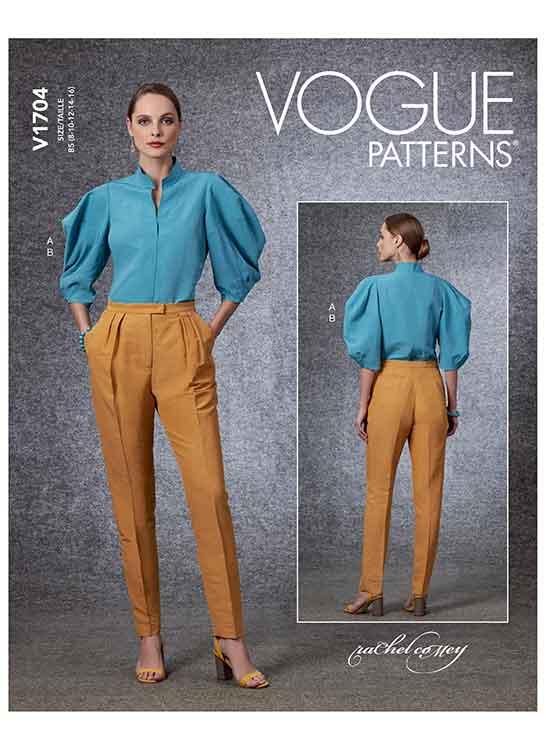 V1704 Misses' Top & Pants