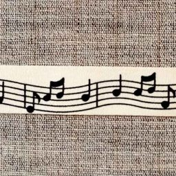 Musical note ribbon (15mm)