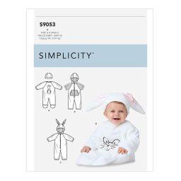 S9053 Babies' Jumpsuit & Hats