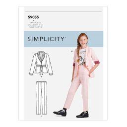 S9055 Girls' Jacket & Pants