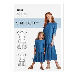 S9057 Children's & Misses' Dresses