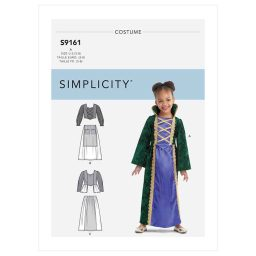 S9161 Children's Witch Costumes