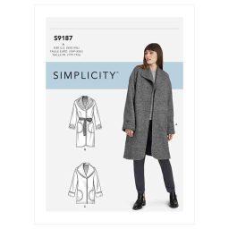 S9187 Misses' Jacket & Coats